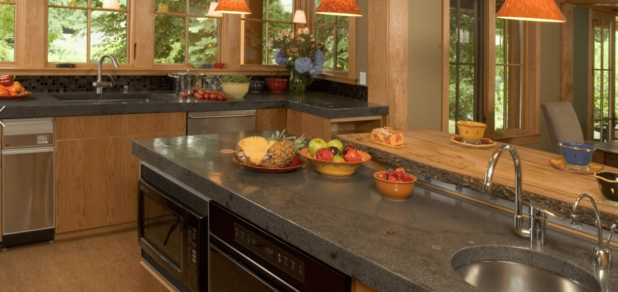 How Much do Different Countertops Cost? | CounterTop Guides Soapstone Countertops With Slate Floors Html on