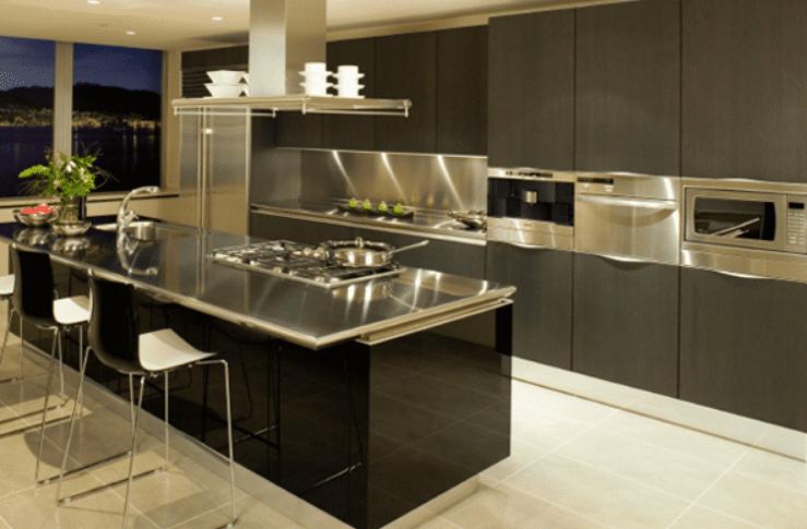 Exceptionnel Stainless Steel Countertop