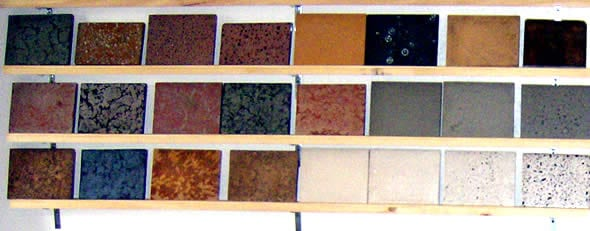 Kitchen countertops types design decoration Types of countertops material