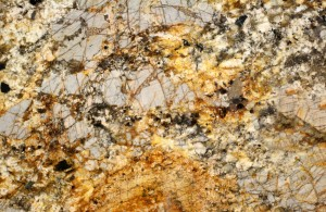 Granite Countertop Gold Vein