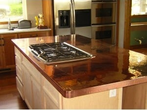 Genial Copper Countertop. Recycled Glass Countertops
