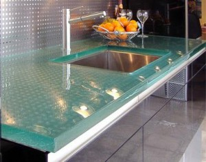 Clear Resin Countertops