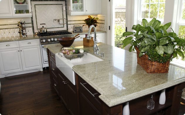 Granite Places Near Me : ... granite kitchen countertops pros and cons of granite kitchen