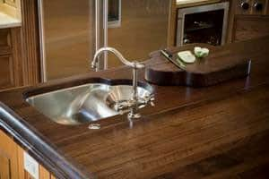 Antique Barn Wood Reclaimed Countertop
