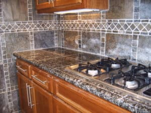 Merveilleux Countertop Tile And Backsplash