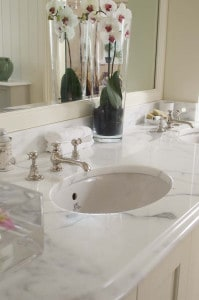 Marble Countertop Bathroom