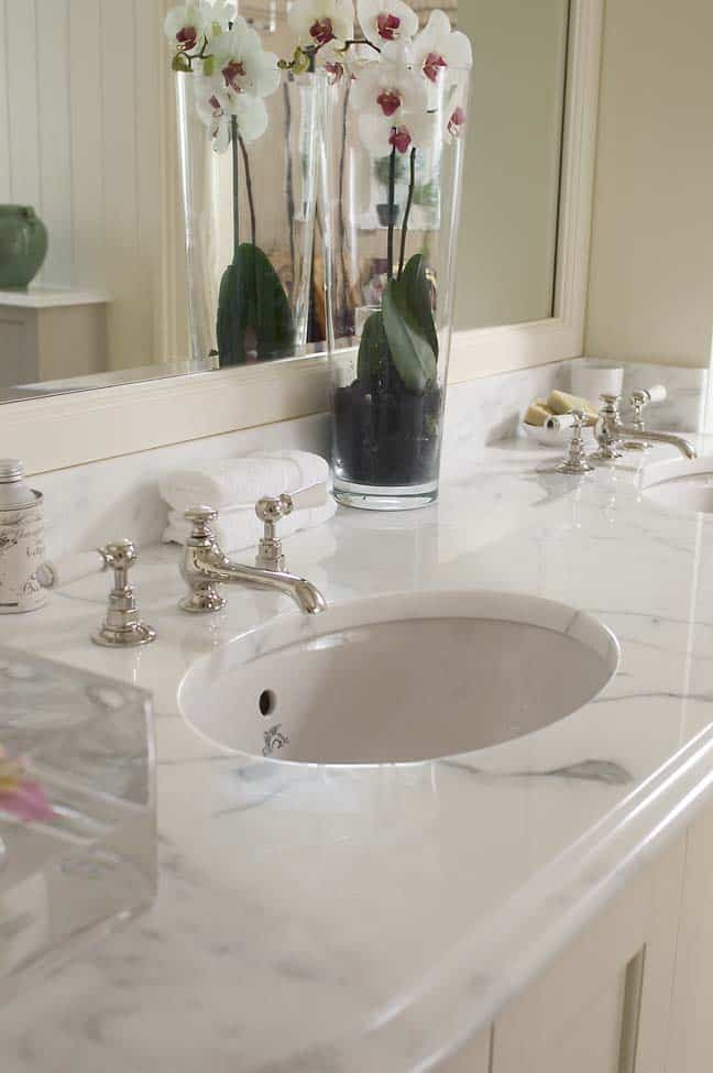 The pros and cons of marble countertops countertop guides for Bathroom countertops