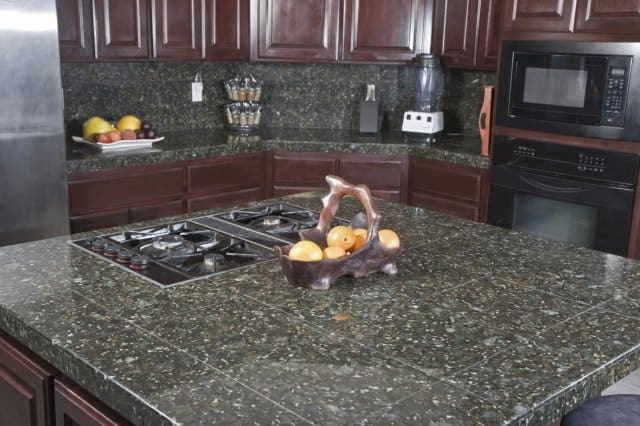 granite tile vs. granite slab countertops | countertop guides