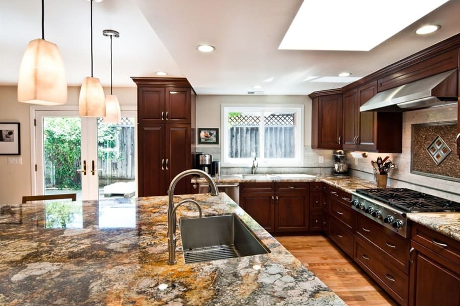 Wonderful Natural Stone Countertops For Kitchens