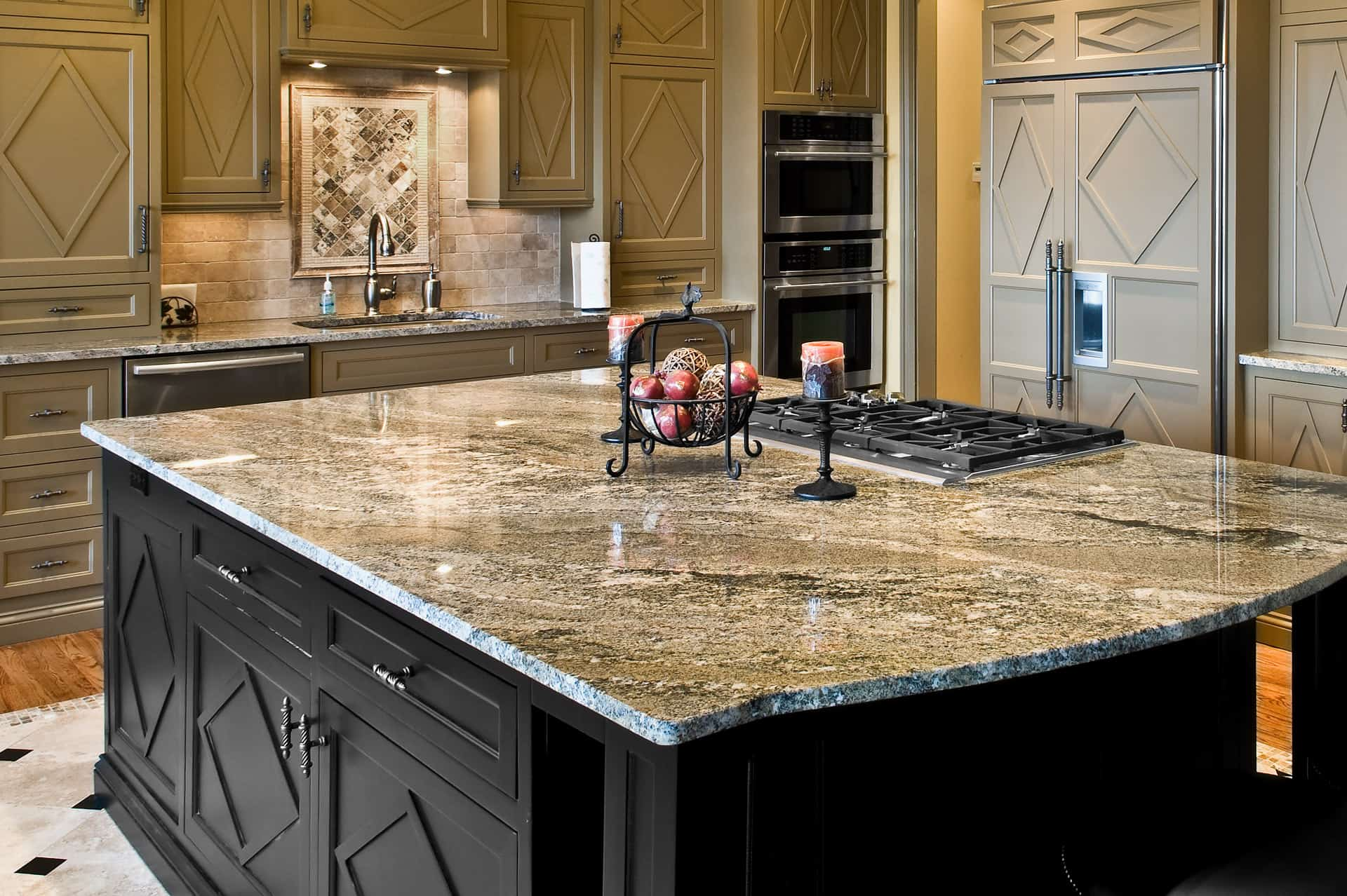 Stone Kitchen The Benefits Of Engineered Stone Countertops Countertop Guides