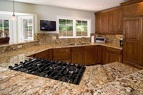 Sealed Natural Stone Countertops
