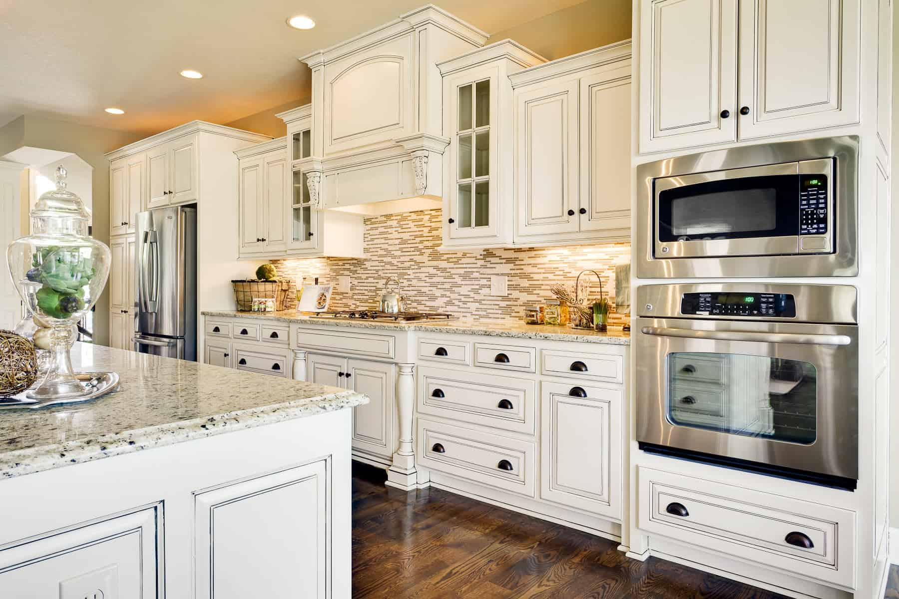 Charmant White Granite Countertops