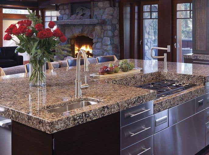 Granite prices silestone vs granite vs quartz countertop for Cost of quartz vs granite countertops