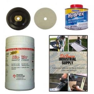 Repolishing and Sealing Kit - Light Granite