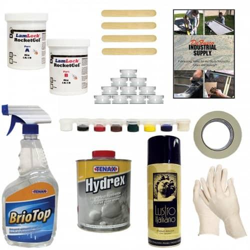 Deluxe Granite Chip And Crack Repair Kit Countertop Guides