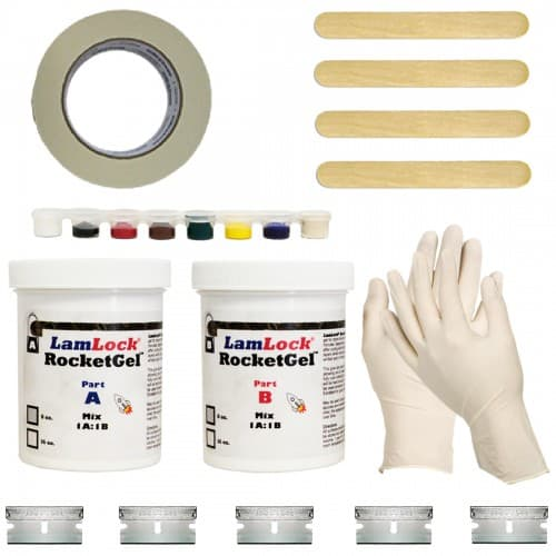 Granite marble chip crack repair kit countertop guides for Marble filler repair