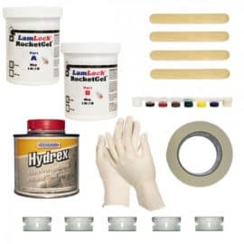 Granite and Marble Chip and Crack Repair Kit with sealer